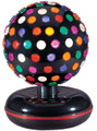 "Golden Island 10"" Rotating Disco Ball"