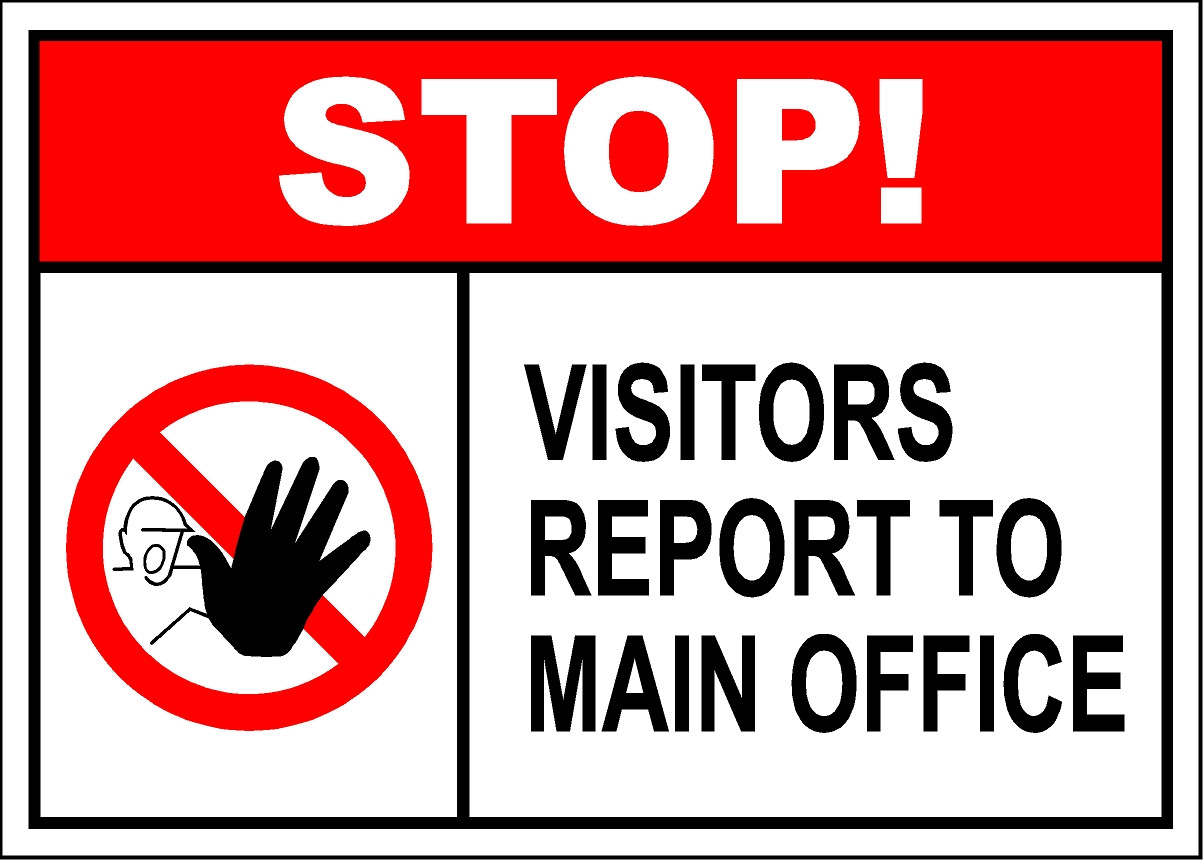Visitors Report To Main Office Sign  Safetykorem. Cartoon Network Signs. Calligraphy Signs. Map Signs Of Stroke. Customs Signs Of Stroke. Healed Signs. Impulsive Signs Of Stroke. Concept Infographic Signs Of Stroke. Damaged Signs Of Stroke