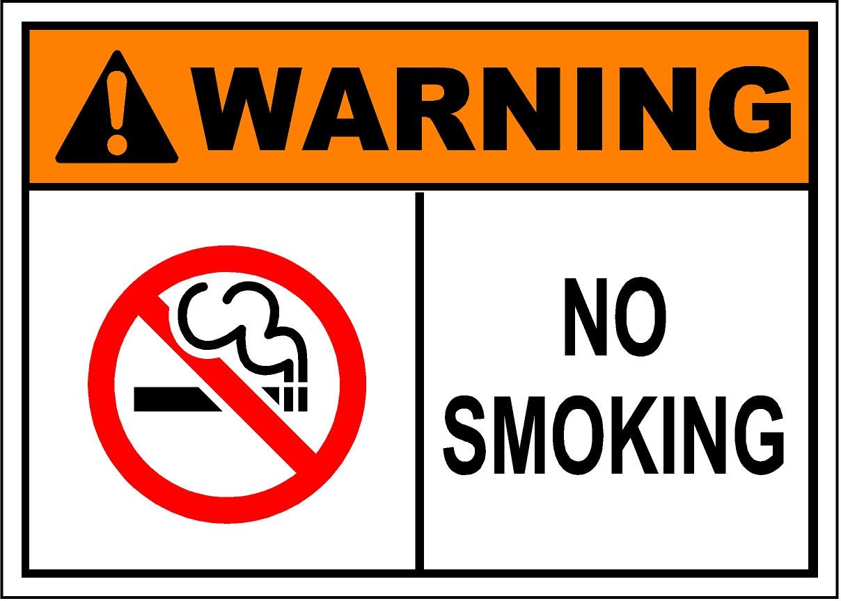 No Smoking Sign - SafetyKore.com