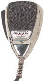 Astatic 636L-C 4 Pin Chrome Noise Canceling