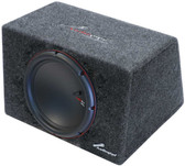 "Audiopipe APSB12ET 12"" 750 Watt Sealed Car Subwoofer Enclosure"