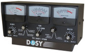 Dosy TC-3001PSW 3 Window 1,000 Watt Lighted Meter