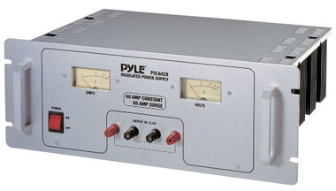 This 60A power supply is designed to power 12VDC devices such as cell phones, CB radios, scanners, HAM radios, atc.