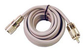 Astatic A8X3 3' Gray Mini 8 Coax w/ PL-259's