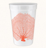 Coral Pearlized Cup