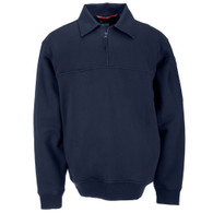 72321: Job Shirt 1/4 Zip with Canvas Details by 5.11