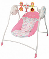 Lucky Baby - Cheeree™ Baby Swing with Toy Bar (501375R)