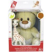 Sophie the Giraffe - Sophie set (Gabin the bear)