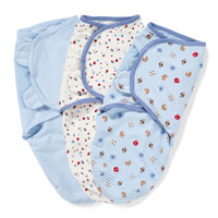 Summer Infant - SwaddleMe Adjustable Infant Wrap - Sports, 3 Count (Small)