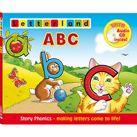 Letterland -  ABC (With Audio CD Inside!)
