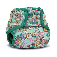 Tokidoki x Kanga Care Rumparooz Cloth Diaper Cover One Size - SNAP tokiTreats - Peacock