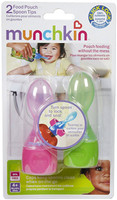 Munchkin, Food Pouch Spoon Tips, 2 Spoon Tips