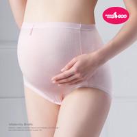 mammy village - 100% Cotton Maternity Panty (Whtie/Pink) x2