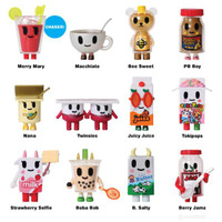 Tokidoki Moofia Breakfast Besties, Mini Figures (1 Carton/24 blind boxes)