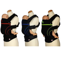 Manduca - Baby Carrier Blackline (Free Fumbees)
