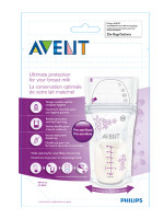 Philips Avent - Breastmilk Storage Bag, 180ml (25 Count) ( 2 for $15)