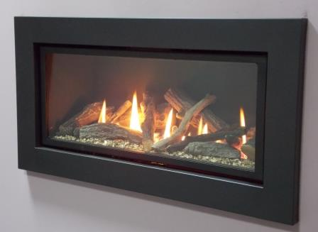 Ignite Black Pinnacle 800 Gas Fire Lowest Prices In Uk