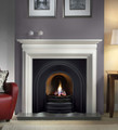 Crown Cast Iron Insert - Gallery Fireplace Collection