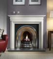 Asquith Agean Limestone Surround - Gallery Fireplace Collection