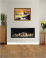 Pinnacle 860 HE Frameless Gas Fire