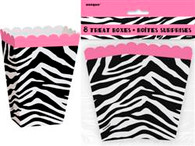 ZEBRA PASSION 8 TREAT BOXES
