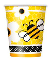 BUSY BEES 8 x 270ml (9oz) PAPER CUPS