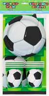 3D SOCCER PARTY PACK FOR 8