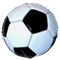 "3D SOCCER 45cm (18"") FOIL BALLOON PACKAGED"