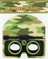 CAMO 8 MASKS