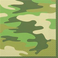 CAMO 16 LUNCHEON NAPKINS