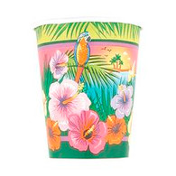 LUAU PARTY 8 x 270ml (9oz) PAPER CUPS