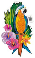 LUAU TROPICAL BIRD CUTOUT