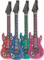 """INFLATABLE GUITAR 101cm (40"""") - ASSORTED"""