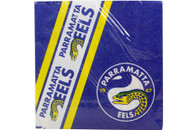 NRL PARTY NAPKINS EELS 12PK 33*33CM