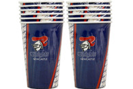 NRL PARTY CUPS KNIGHTS 6PK 500ML