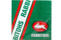 NRL PARTY NAPKINS RABBITOHS 12PK 33*33CM