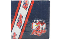 NRL PARTY NAPKINS ROOSTERS 12PK 33*33CM