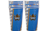 NRL PARTY CUPS TITANS 6PK 500ML