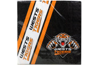 NRL PARTY NAPKINS TIGERS 12PK 33*33CM