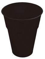 MIDNIGHT BLACK 25 X 270ml (9oz) PLASTIC CUPS