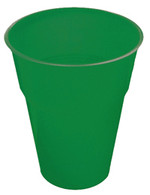 EMERALD GREEN 12 X 270ml (9oz) PLASTIC CUPS