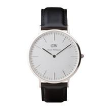 Daniel Wellington Men's Classic Sheffield Silver Tone 40mm Watch