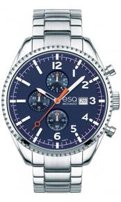 ESQ by MOVADO Catalyst Swiss Quartz Chronograph Blue Dial Men's Watch 07301429