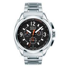 ESQ by MOVADO Swiss Quartz Excel Black Orange Chronograph Men's Watch 07301415