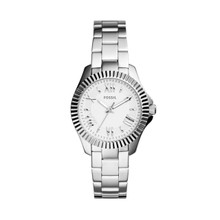 Fossil Ladies Cecile Small Three-Hand Stainless Steel Watch AM4608