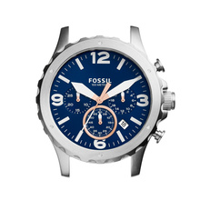 Fossil Men's Nate Chronograph Stainless Steel Case C221032
