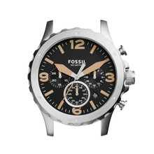 Fossil Men's Nate Chronograph Stainless Steel Case C221033