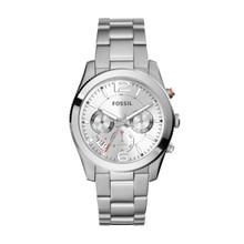 Fossil Ladies Perfect Boyfriend Watch In Silvertone ES3883