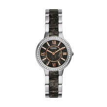 Fossil Ladies ES3918 Analog Display Analog Quartz Silver Watch ES3918