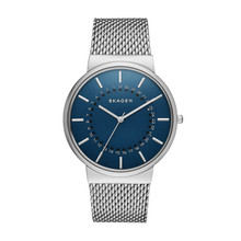 Skagen Ancher Blue Dial Stainless Steel Men's Watch SKW6234